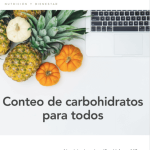 Conteo de carbohidratos para todos