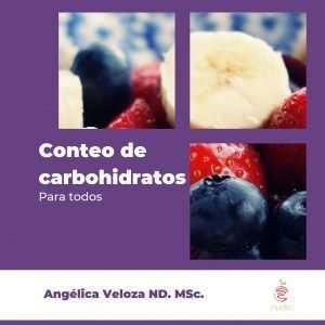 Libro conteo de carbohidratos portada