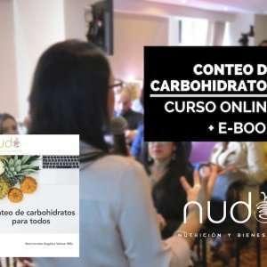 Curso en Linea Conteo de Carbohidratos | EBook