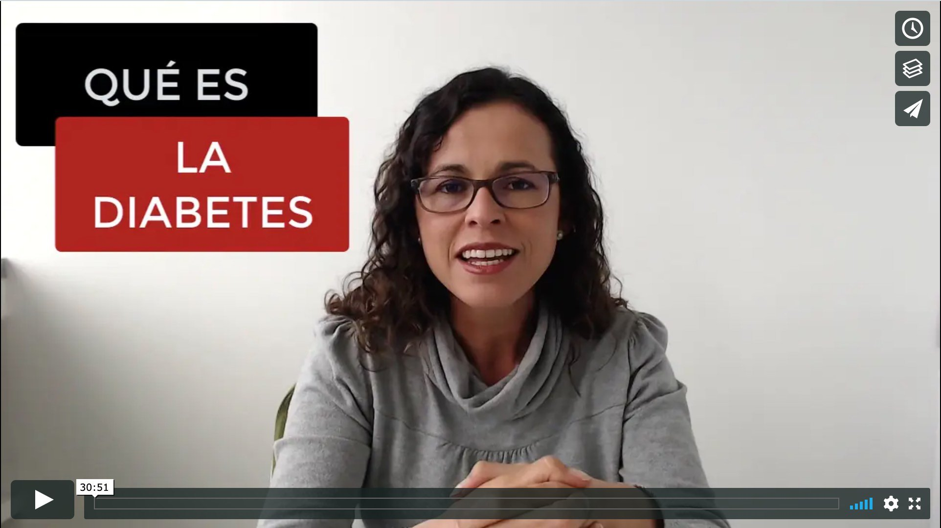 Video Diabetes Masterclass