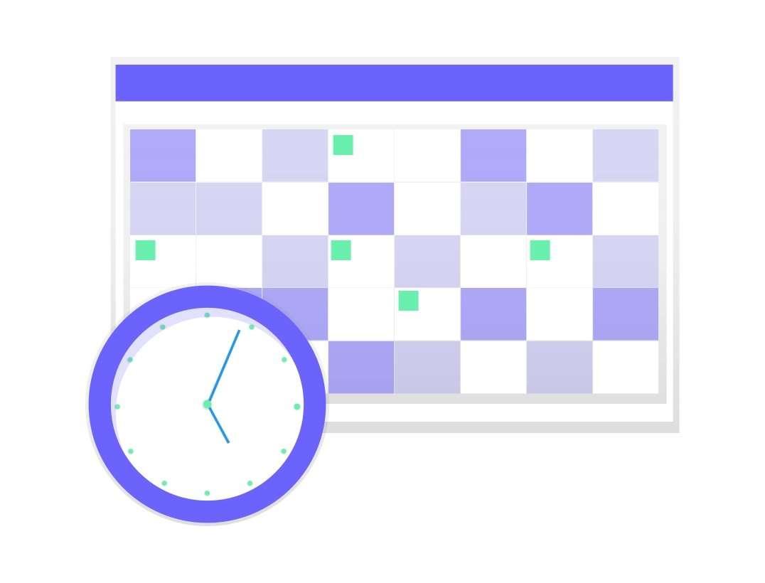 Selecciona fecha y hora